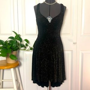 Double Strap Sparkly Party Dress